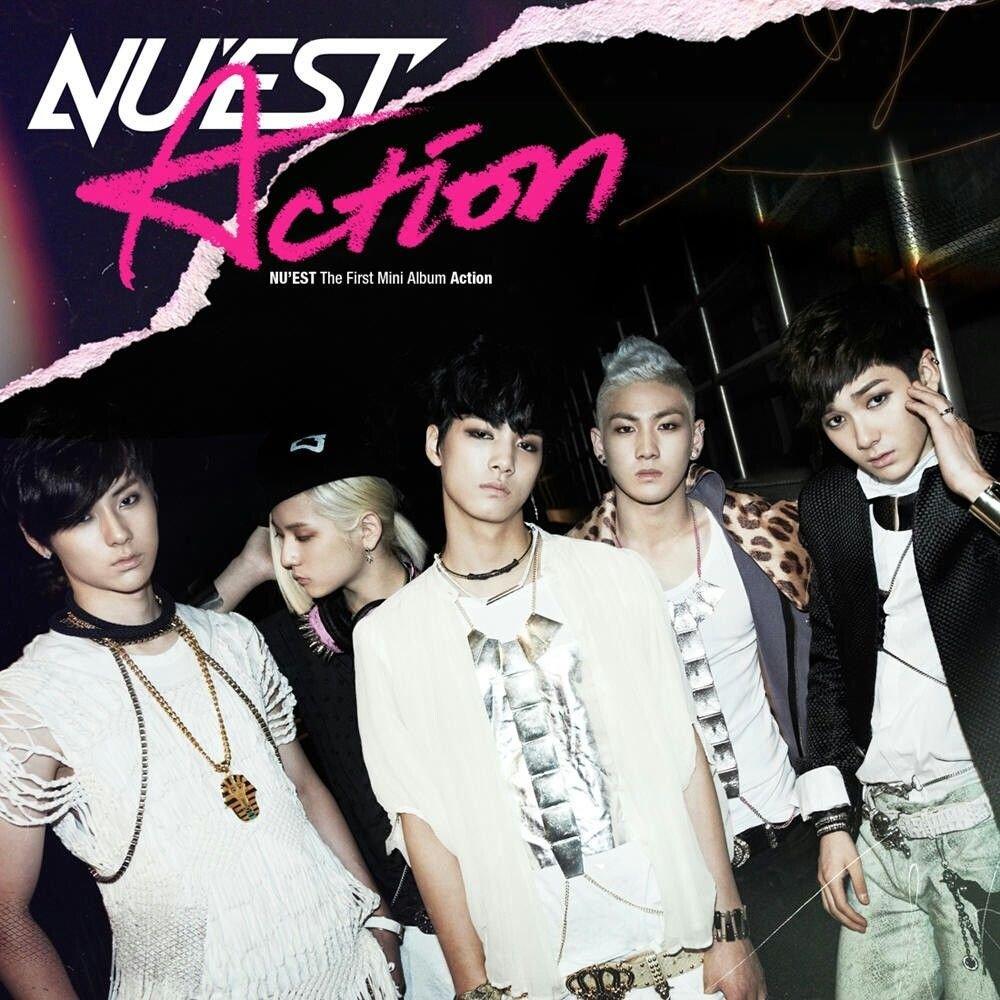 Image result for nu est action album