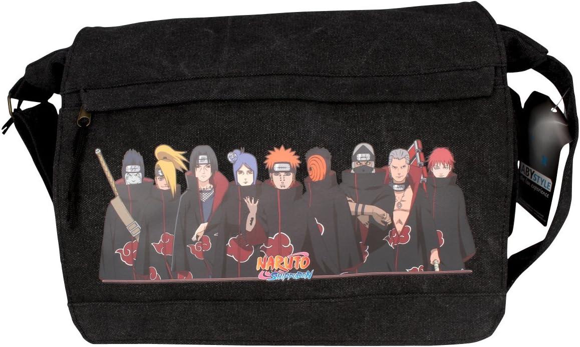 35/x 25/cm /Tissu Sac bandouli/ère Akatsuki Naruto Ship UDDEN/