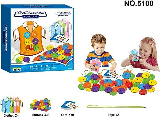 Lecc Juguetes educativos para niños, 12 Juegos de Mesa para niños, Mejorar la observación, atención, Juguetes educativos, Juegos Divertidos,NO.5100: Amazon.es: Hogar