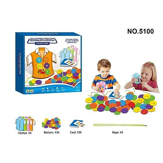 Lecc Juguetes educativos para niños, 12 Juegos de Mesa para niños ...