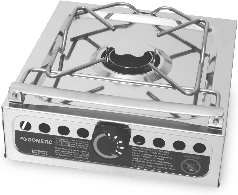 Dometic ORIGO 100, freistehender Spiritus-Kocher, kompakt, für Boot,  Wohnmobil oder Camping-Küche, 10-flammig