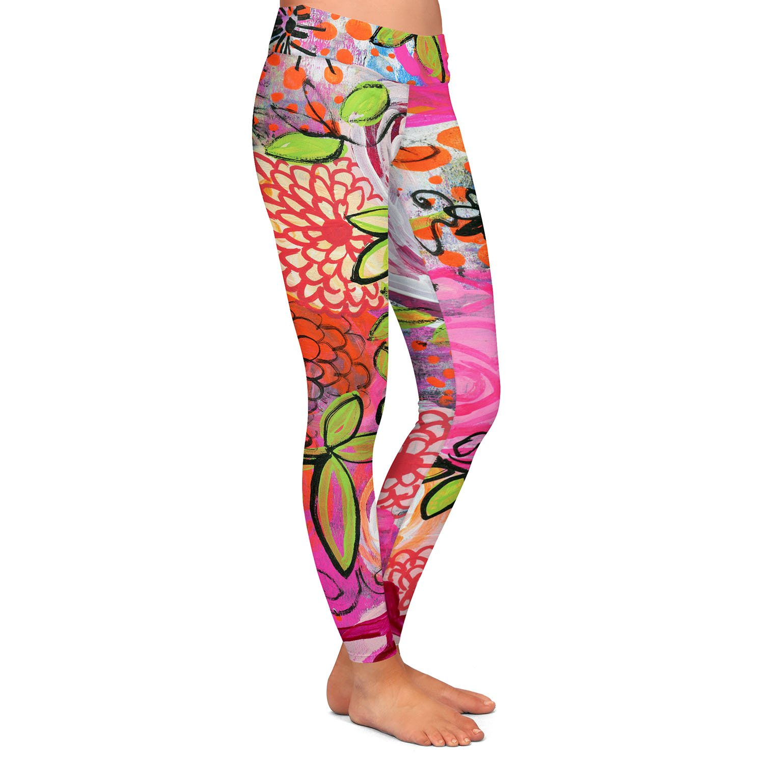 Athletic Yoga Leggings from DiaNoche Designs by Robin Mead Eloquent 44