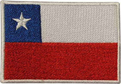 CHILE National Flag Embroidered Iron on Sew on PatchBadge For Clothes etc