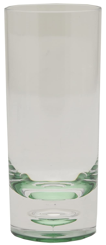 Acrylic Glasses Royal 201008, hohe, grüne Trinkgläser, Set von 12