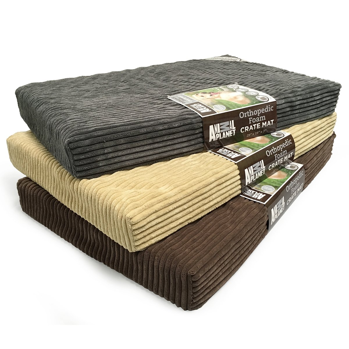 Animal Planet Orthopedic Pet Bed, 40''x26''x3'', Grey by Animal Planet (Image #4)