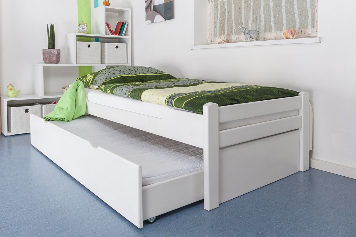 funktionsbett 90 200 buche. Black Bedroom Furniture Sets. Home Design Ideas