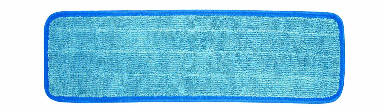 Wilen C103024, Super Pro II Microfiber Flat Mop Refill, 24'' Length x 5'' Width, Blue (Case of 12)