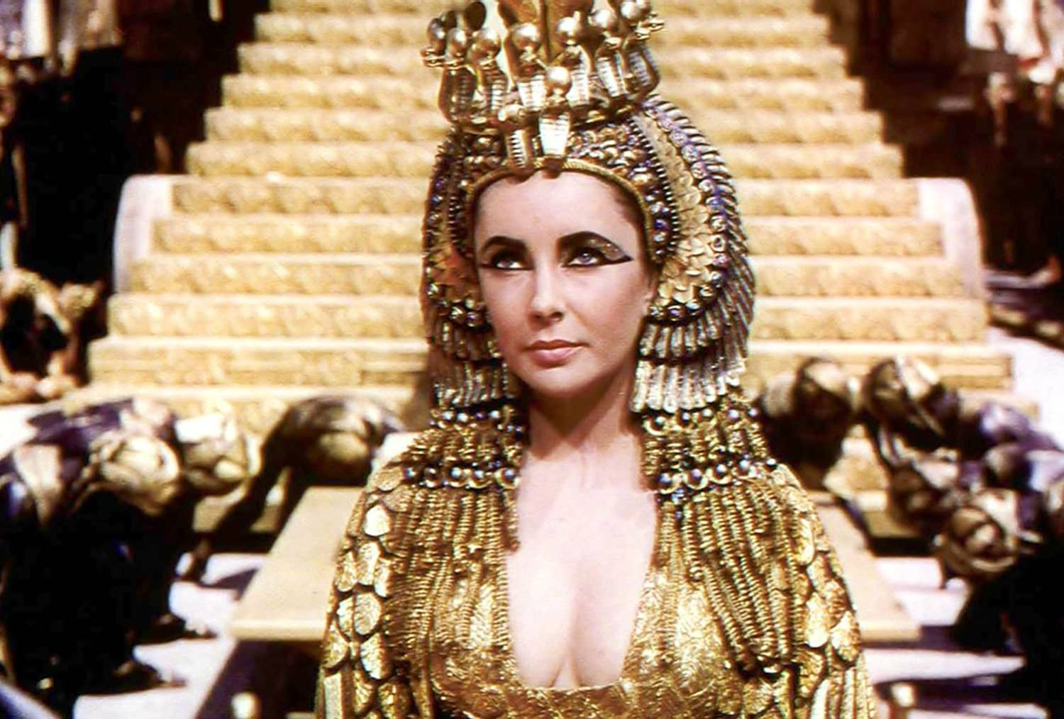 Amazon Com Metal Tin Sign 8x10 From Photos Cleopatra 1963 Elizabeth Taylor Posters Prints