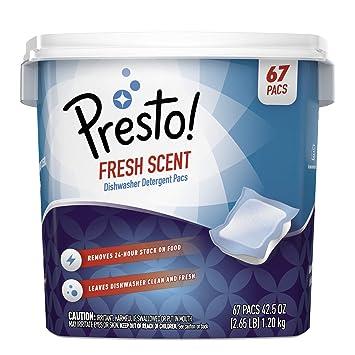Amazon.com: Marca Amazon - Presto! Premium lavavajillas ...