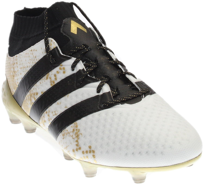 adidas Men's Ace 16.1 Primeknit FG Soccer Cleats B01LXI0YMB 6.5 D(M) US|White
