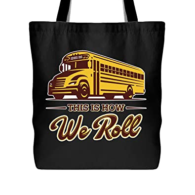 Amazoncom School Bus Driver Tote Bag How School Bus Driver Roll