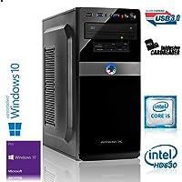 Memory PC Intel PC Core i5-7500 4X 3.4 GHz, 8 GB DDR4, 240 GB SSD + 1000 GB Sata3/-600, Intel HD 630 Grafik 4K, Windows 10 Pro 64bit
