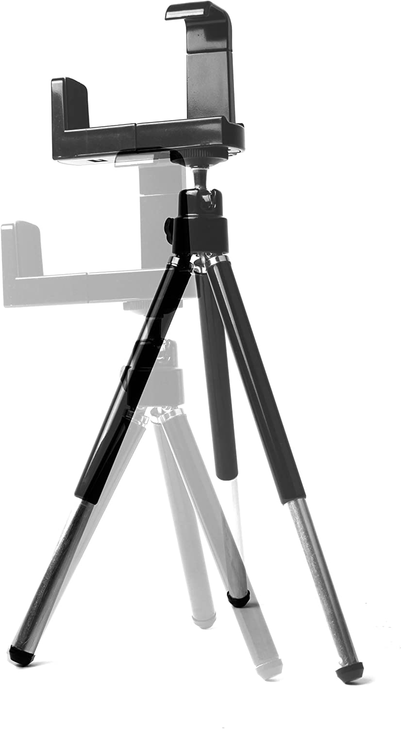DURAGADGET 2-in-1 Extendable Travel Tripod Compatible with Panasonic Lumix DMC-TZ20 Lumix DMC-GF2 /& Lumix DMC-GF3