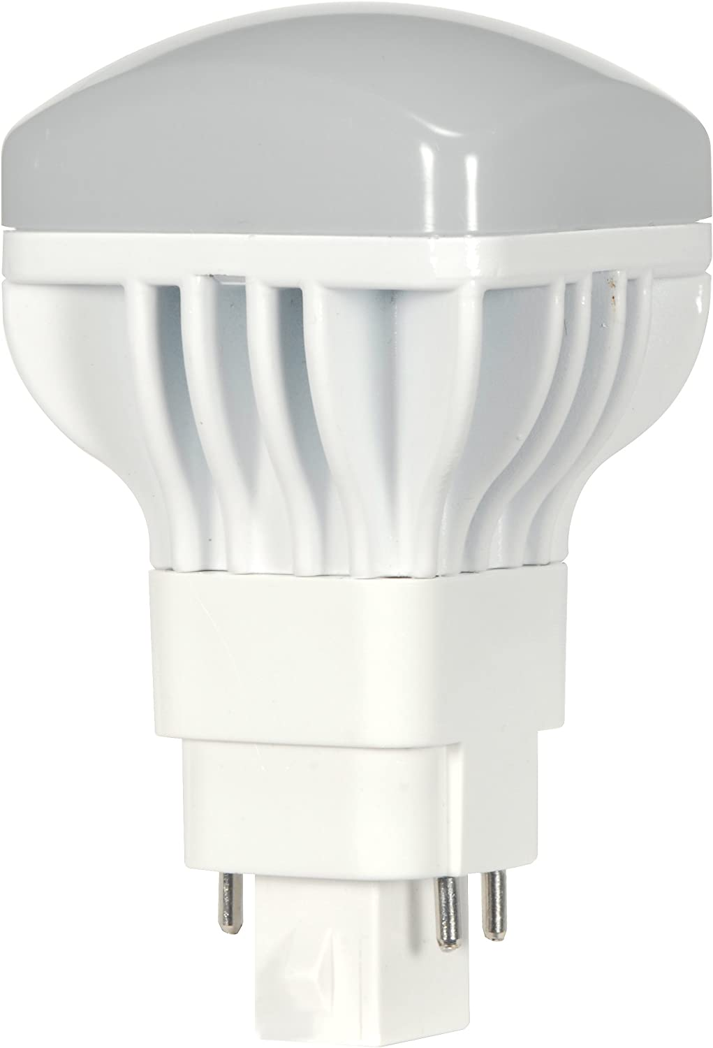 (10-Pack) Satco S9300 13W/V/LED/CFL/827/4P 13-Watt G24q Base LED Direct Replacement for PL 4-PIN CFL's (2700K) 71fppUxe0nLSL1500_