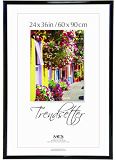 mcs 27436 trendsetter poster frame 24 inch x 36 inch black