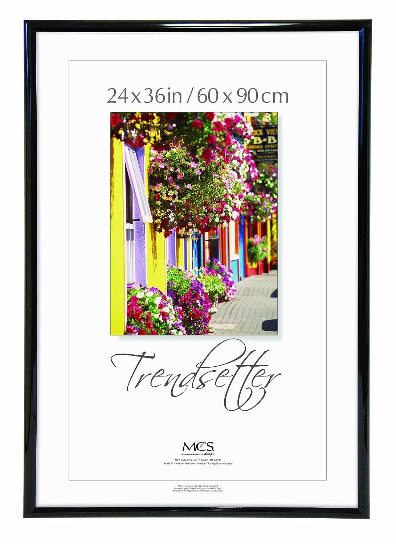 MCS Trendsetter 24, 36 Poster Rahmen, schwarz, schwarz, 24 x 36 Inch ...