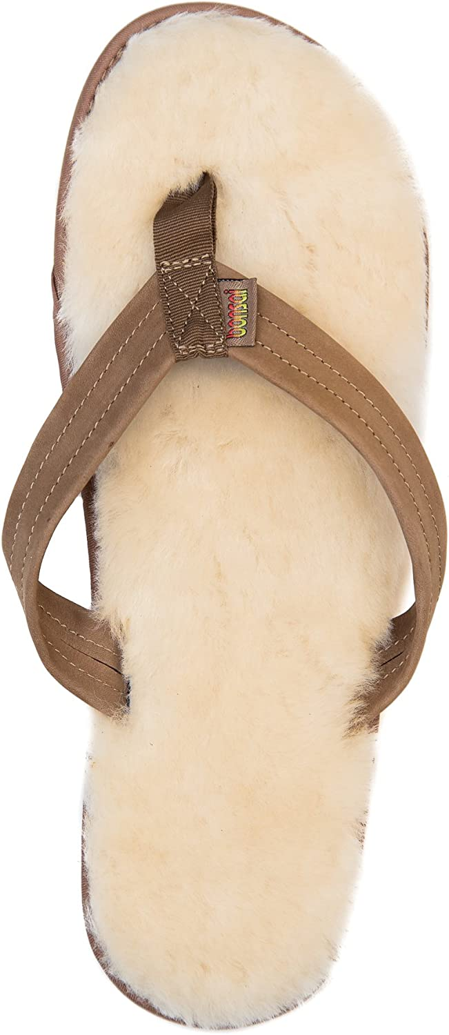 Bonsai Sandals Mens Sheepskin Sandal
