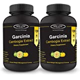 Sinew Nutrition Garcinia Cambogia Extract -(90 count - Pack of 2) 1500 mg Per Serving, 100 % Veg, Pure & Natural Weight Management & Appetite Suppressant Supplement