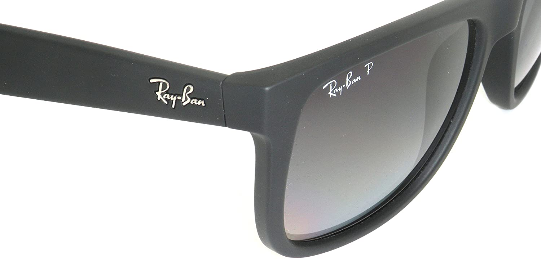 Ray-Ban RB4165 622/T3 negro/gris degradado 55 mm polarizadas gafas de sol: Amazon.es: Ropa y accesorios