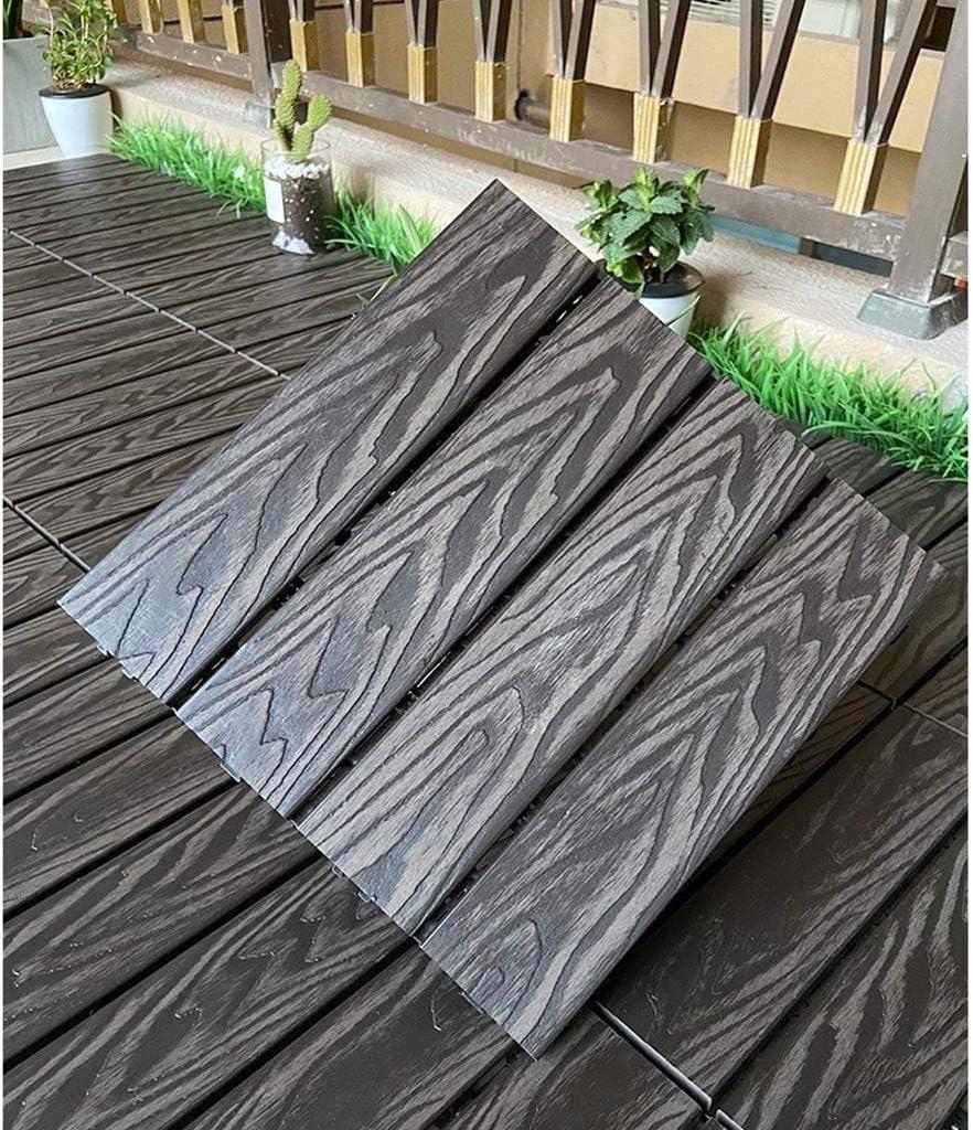 Amazon Com Mihoutao Interlocking Wood Flooring Indoor Deck Patio Pavers Dance Bathroom Shower Floor Tiles Solid Wood And Plastic Indoor Outdoor 12in12in Color Gray Size 20pcs Home Kitchen