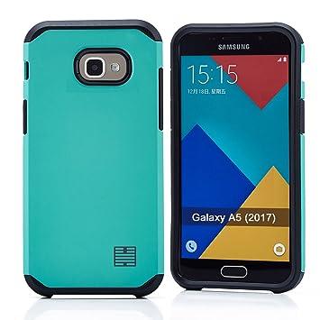 32nd Funda Armadura Rigida Slim Armour con Doble Carcasa para Samsung Galaxy A5 (2017) - Verde Menta