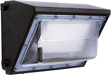 120w Led Wall Pack Daylight 5000k With Dusk To Dawn Light Sensor 12000 Lm 400w Hid Replacement 120 277v Bright Commercial Outdoor Security Lighting Amazon Com