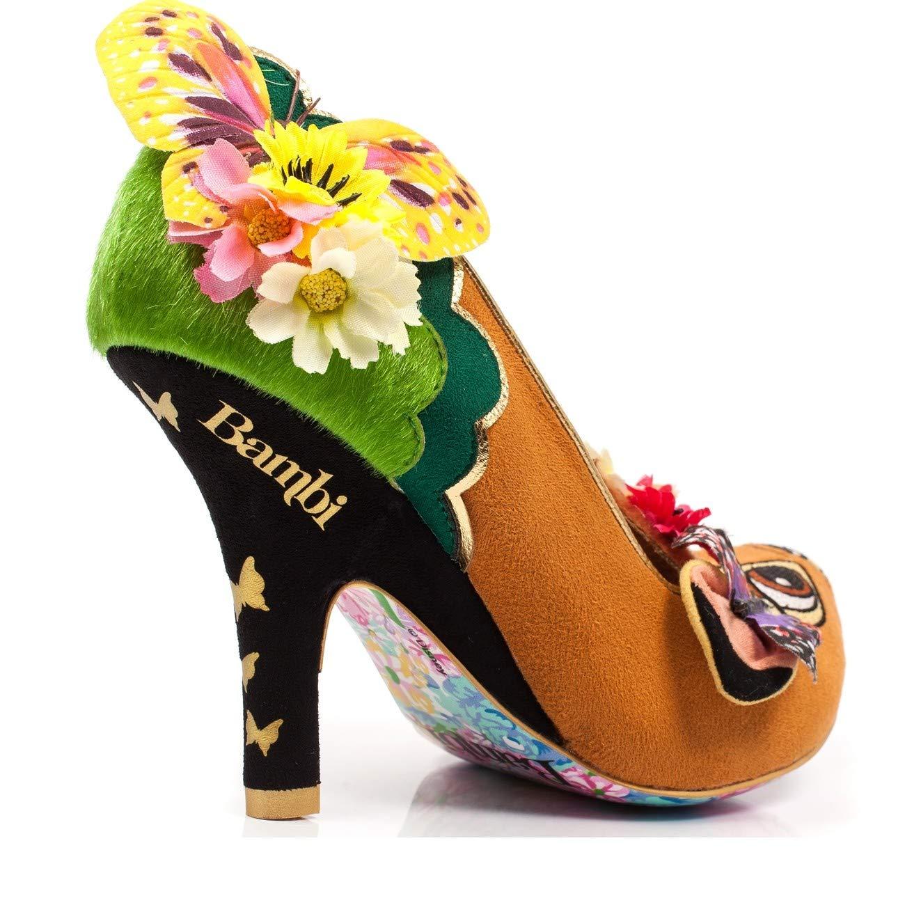 e8290b9c848 Amazon.com  Irregular Choice Disney Bambi High Heels  Clothing