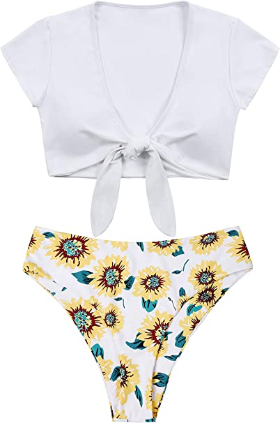Amazon.com: Lemonfish - Traje de baño para mujer, talla ...