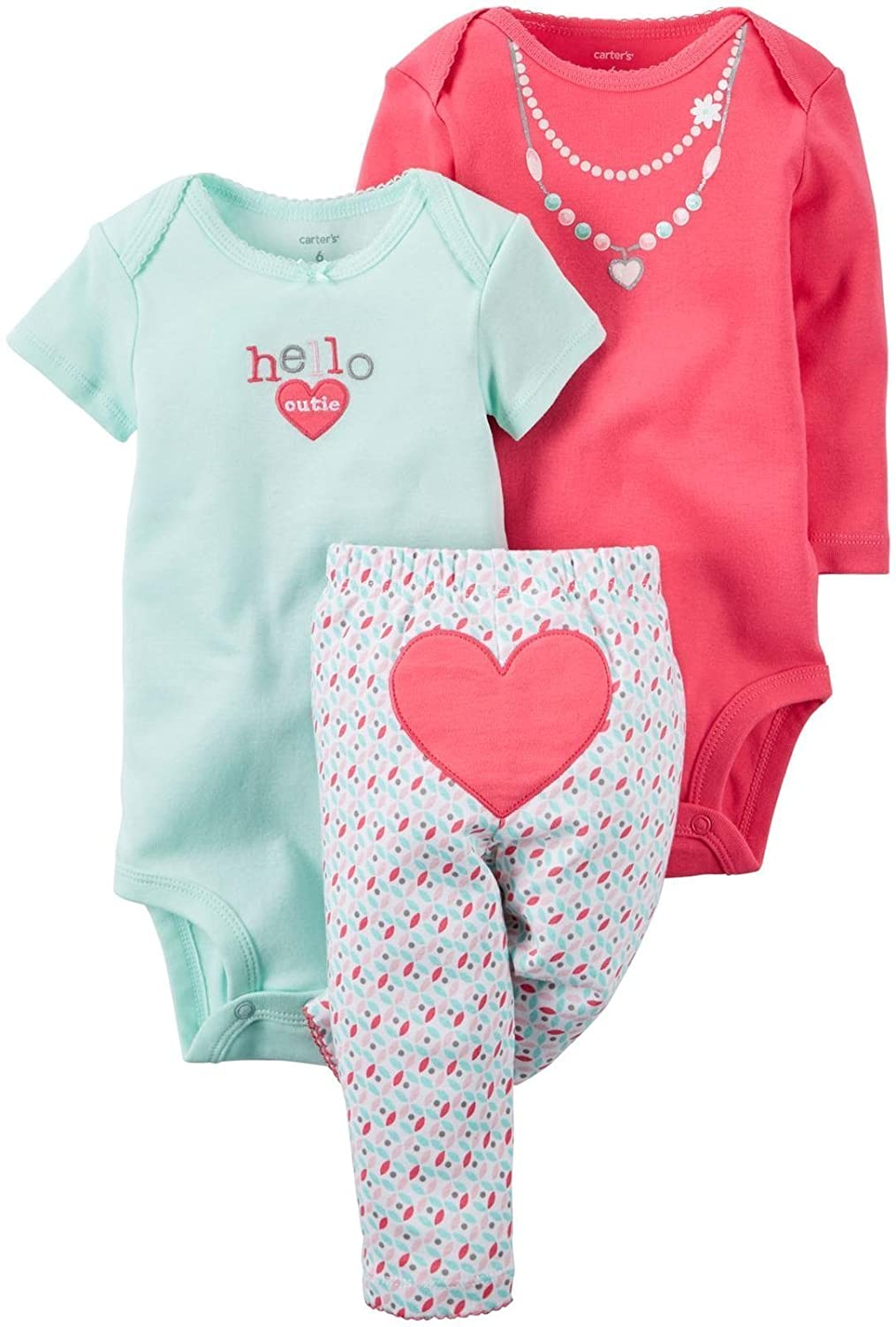 Carter's Baby Girls Take Me Away 3-Piece Little Character Set Carters 126G462