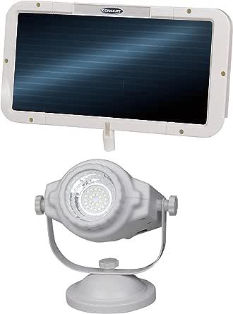 Concept SL-200 24-LED Solar-Powered Flood Light