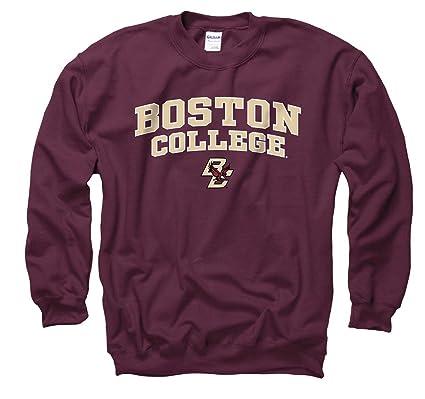 736af6425 Campus Colors Boston College Eagles Adult Arch   Logo Gameday Crewneck  Sweatshirt - Maroon