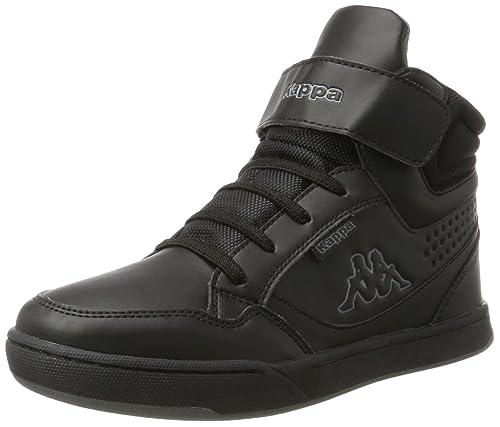 Kappa Forward Mid, Sneaker a Collo Alto Unisex-Bambini, Nero (1111 Black), 29 EU