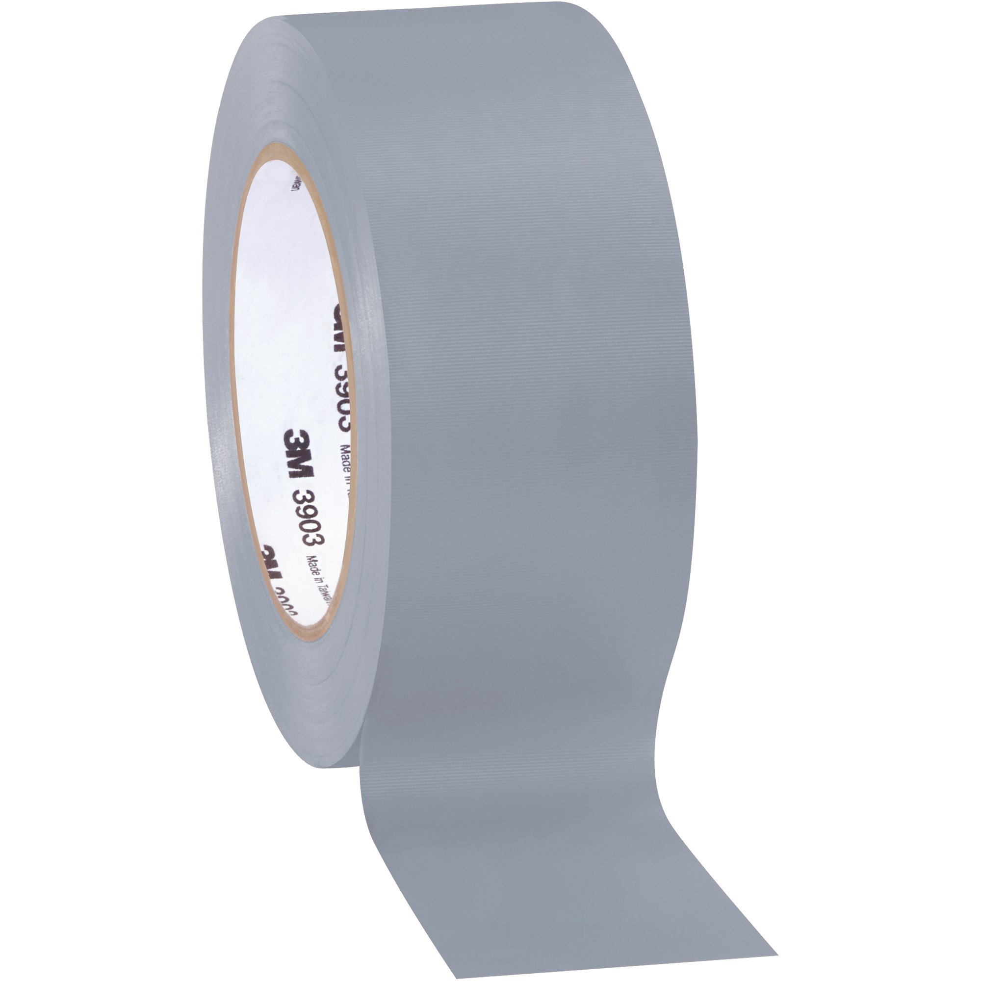 Top Pack Supply 3M 3903 Duct Tape, 6.3 Mil, 2'' x 50 yds Gray (Case of 3)