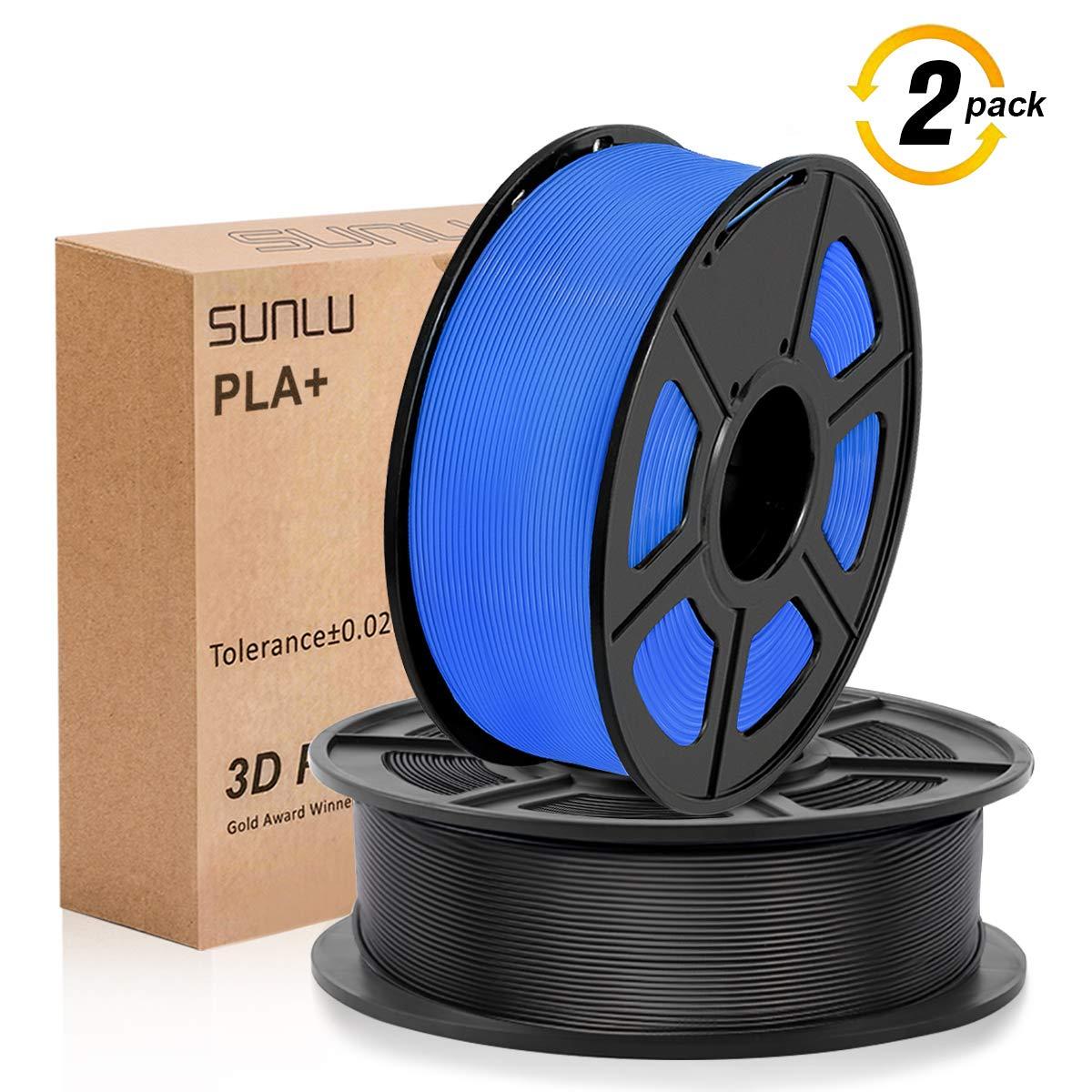 Skin SUNLU 3D filament 1.75 Coffee PLA+ Filament 1.75mm Orange 3KG PLA+ Filament 0.02mm for 3D Printer 3D Pens