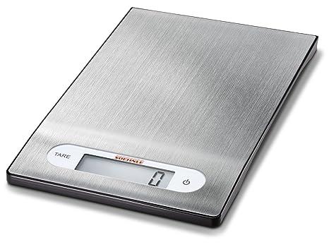 Soehnle 7025-Bascula Digital de Cocina Shiny Steel
