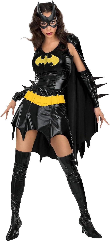 Batman - Disfraz de Batgirl para mujer, Talla M adulto (Rubies 888440-M)