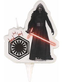 Dekoback - Vela para Tartas, diseño de Darth Vader: Amazon ...