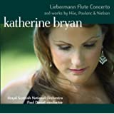 Liebermann Concerto for Flute and Orchestra and works by Hüe, Poulenc and Nielsen (Hybrid - Plays on All CD Players)