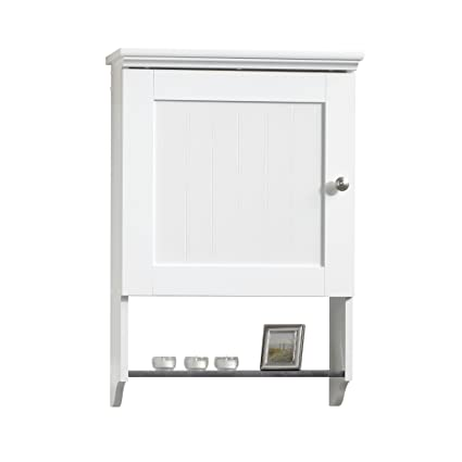 Sauder Wall Cabinet Soft White Finish Amazon Ca Home Kitchen