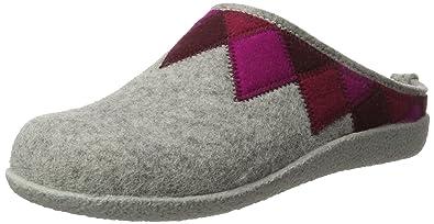 46c3ae040247 Haflinger Women s Textile Shoes for Home US 9.5 EU 41 Grey