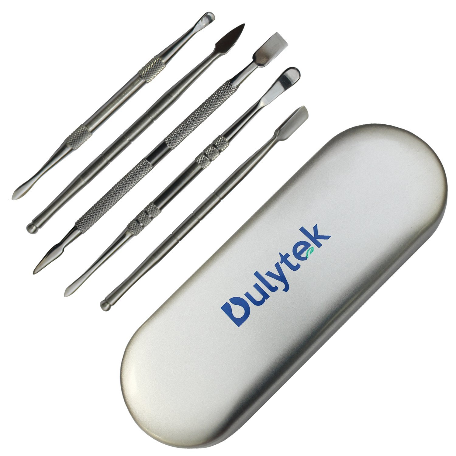 Dulytek 6-Piece Rosin/Wax Carving & Collecting Tool Set