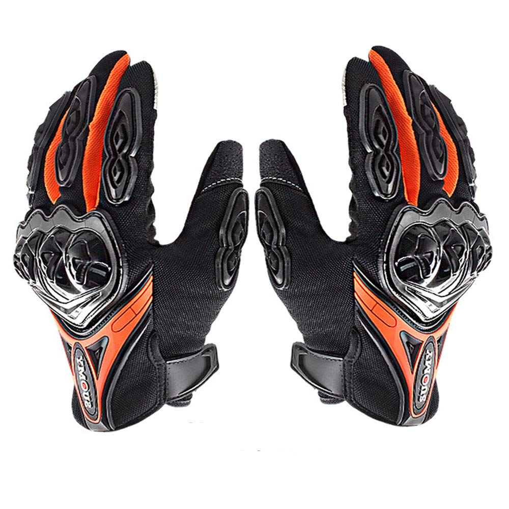 L/&Q Guanti Moto Full Finger Quattro Stagioni In Sella A Locomotiva Guanti Anti-caduta Off-road Design Touch Screen Guanti Uomo E Donna
