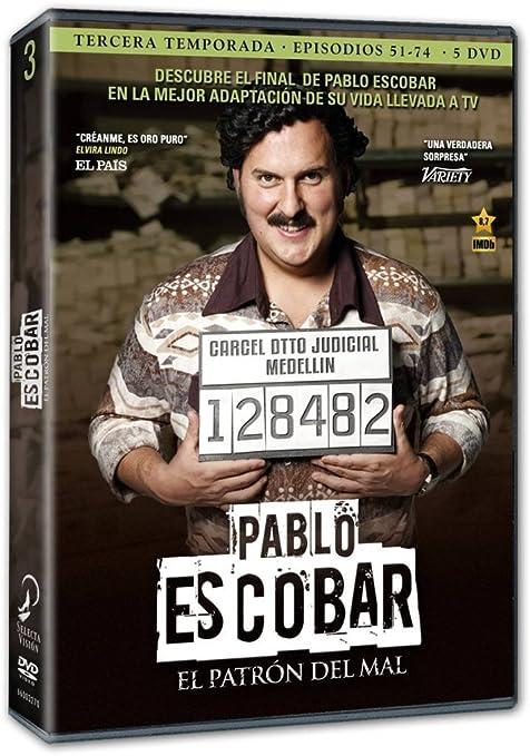 Pablo Escobar: El Patrón Del Mal - Temporada 3 [DVD]: Amazon.es: Andrés Parra, Angie Cepeda, Cecilia Navia, Nicolás Montero, Anderson Ballesteros, ...