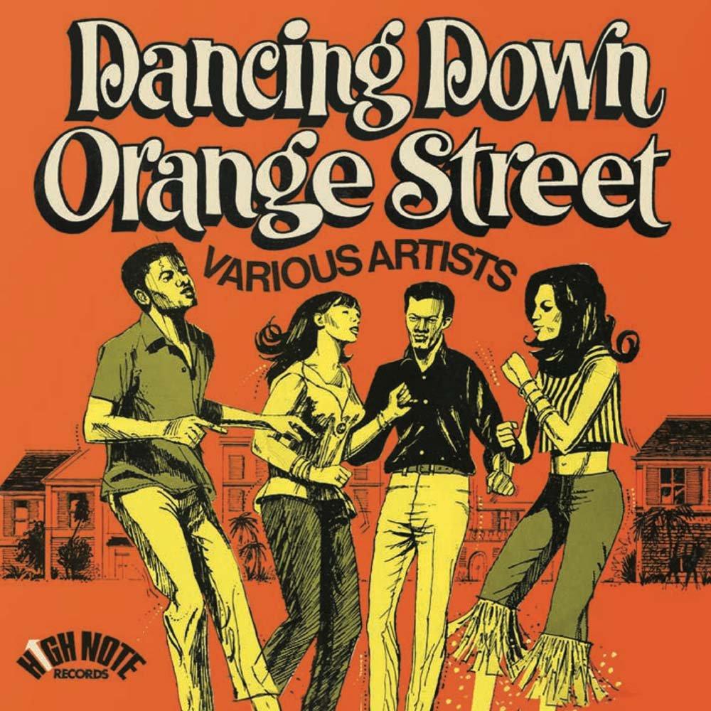 Vinilo : VARIOUS ARTIST - Dancing Down Orange Street (LP Vinyl)