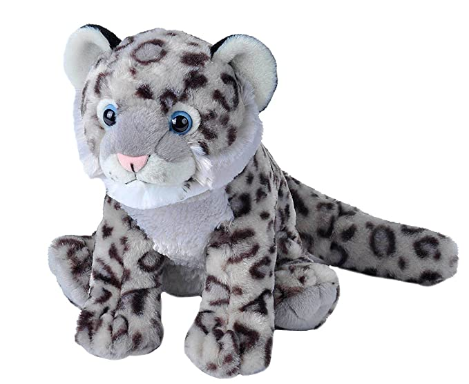 Amazon Com Wild Republic Snow Leopard Cub Plush Stuffed Animal