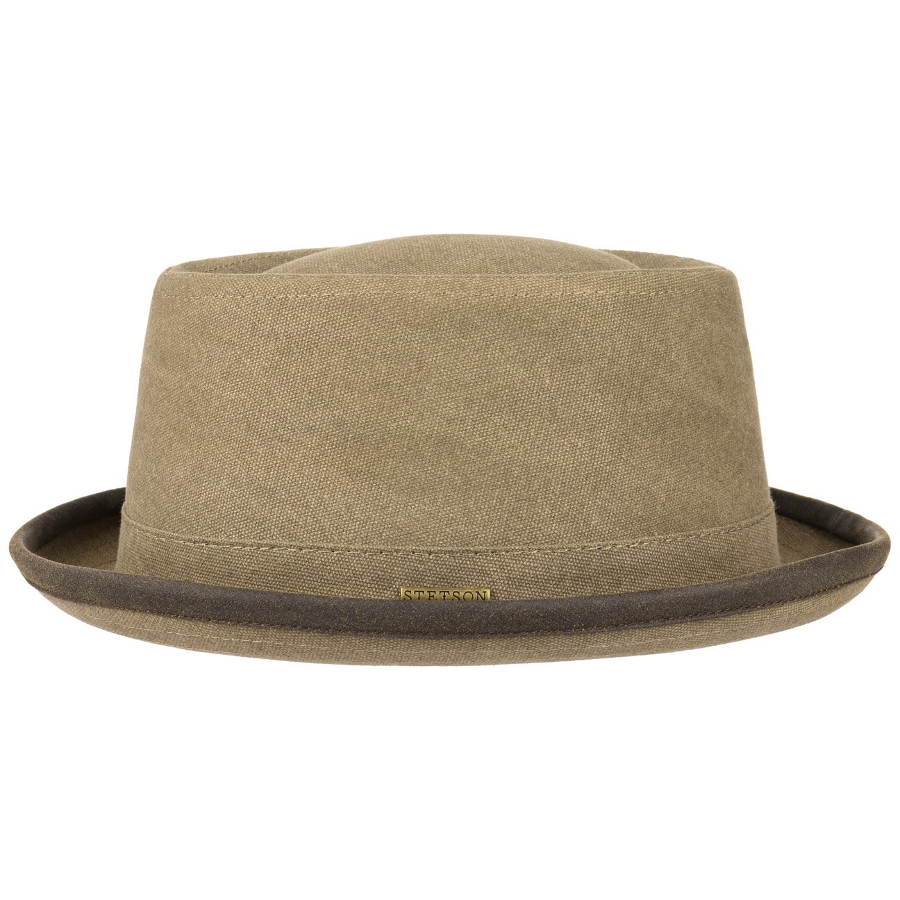 Stetson Canvas Pork Pie Hat Cloth Musician´s