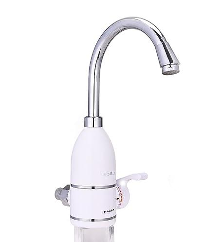 UnitedPlug - Grifo calentador para agua caliente instantánea (3-5segundos