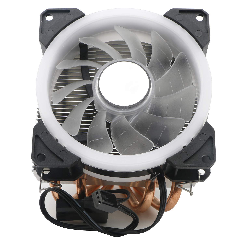 JIUWU Desktop Air Cooler CPU Fan 4 Direct Contact Heat Pipes