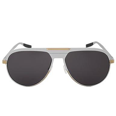 c722b177bef6 Amazon.com  Christian Dior AL 13.6 PZ8Y1 (Grey - Gold with Grey ...