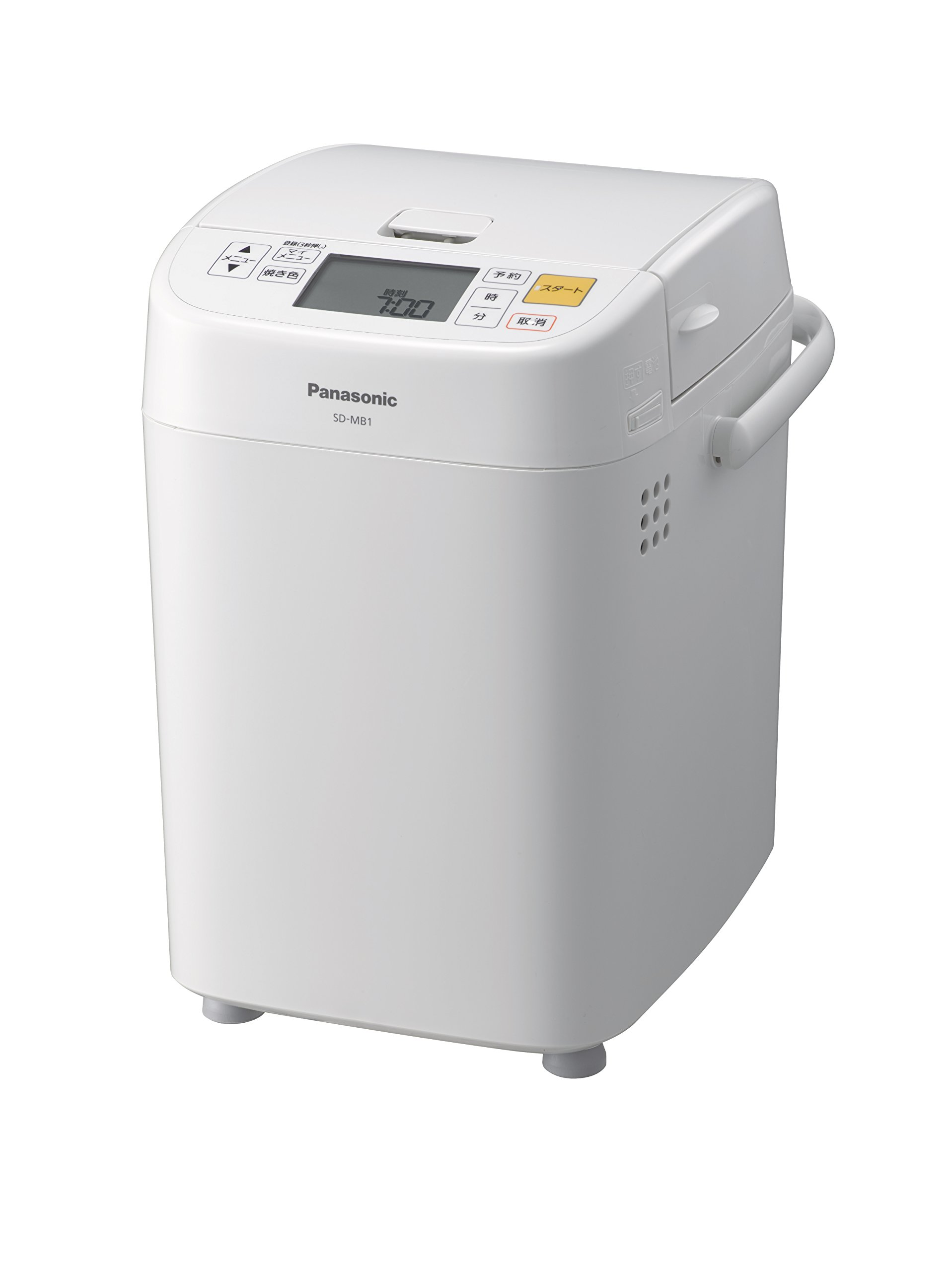 Panasonic Home Bakery (1 loaf type) SD-MB1-W (White)【Japan Domestic genuine products】